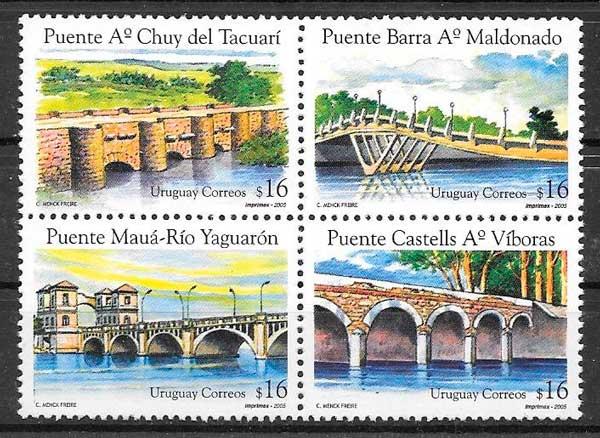 sellos arquitectura Uruguay 2005