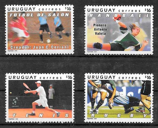 sellos deporte Uruguay 2006