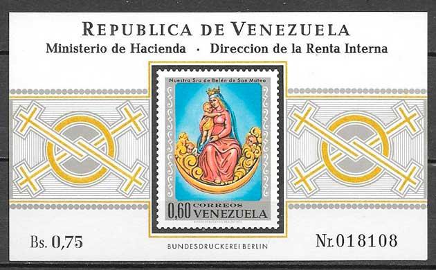 sellos filatelia arte Venezuela