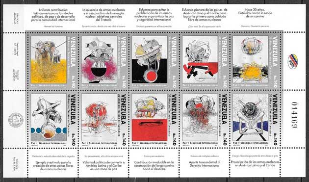 sellos arte Venezuela 1997