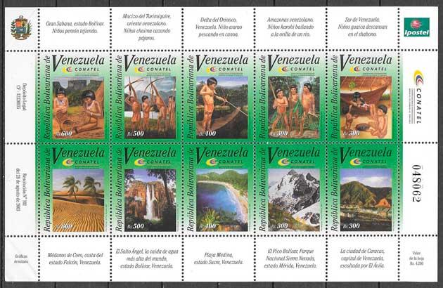 sellos turismo Venezuela 2003