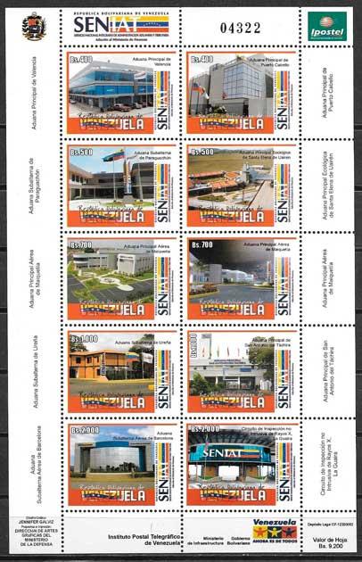 colección sellos arquitectura venezuela 2006