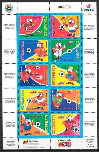 sellos deporte venezuela 2007