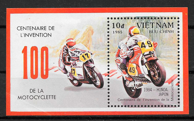 filatelia deporte Viet Nam 1985