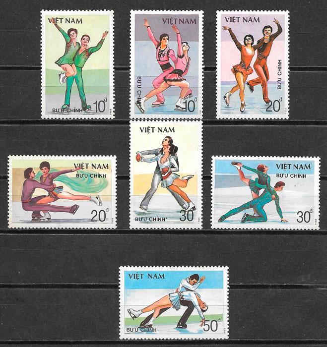 filatelia deporte Viet Nam 1988