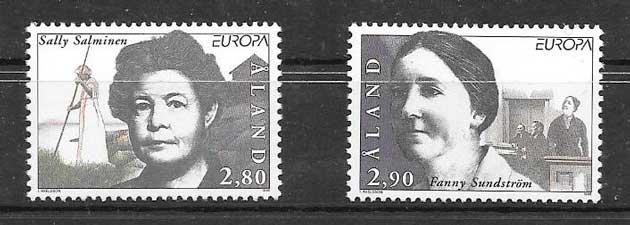 Sellos colección Tema Europa 1996
