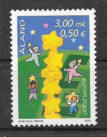Filatelia Aland-2000-01