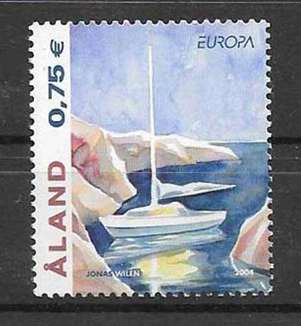 Colección de sellos Aland-2004-01
