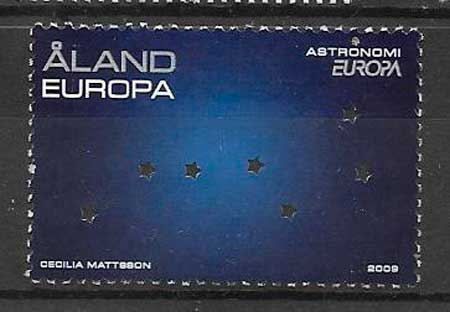filatelia Tema Europa Aland 2009