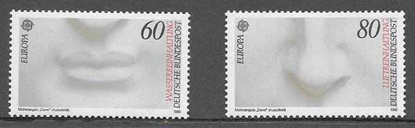 colección sellos Tema Europa 1986