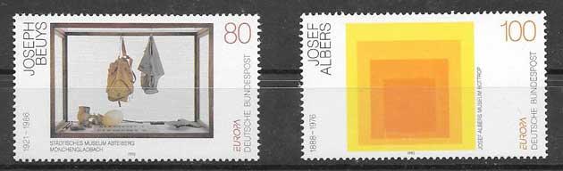 Sellos Tema Europa 1993