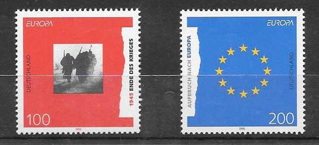 Filatelia Tema Europa 1995