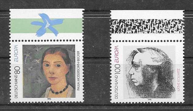 Filatelia Alemania-1996-01
