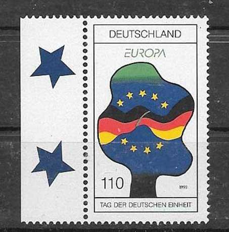 Estampillas Alemania-1998-01