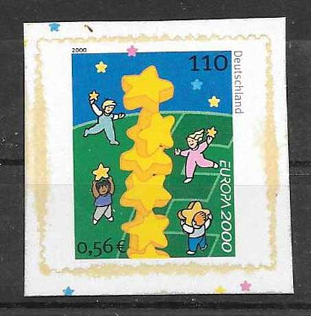 Filatelia sellos Alemania-2000-02