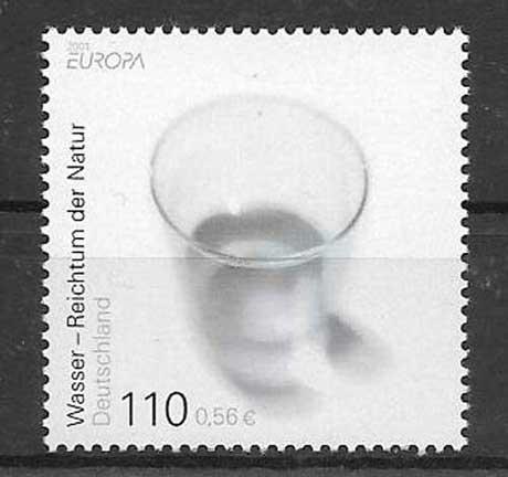 Colección sellos Tema Europa 2001