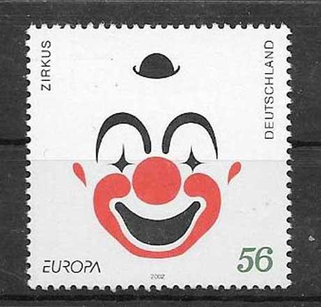 Colección sellos Tema Europa 2002
