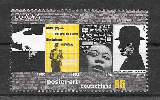 Sellos Tema Europa 2003
