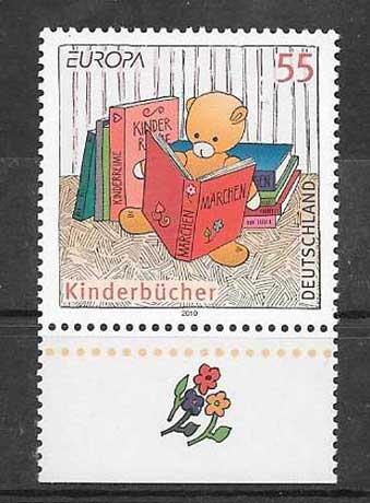Filatelia Tema Europa Alemania 2010