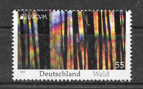Colección Tema Europa Alemania 2011