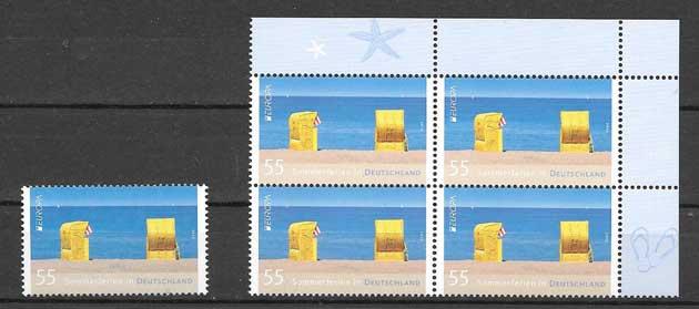 Colección Alemania Tema Europa 2012