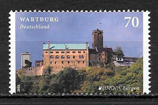 sellos Europa Alemania 2017