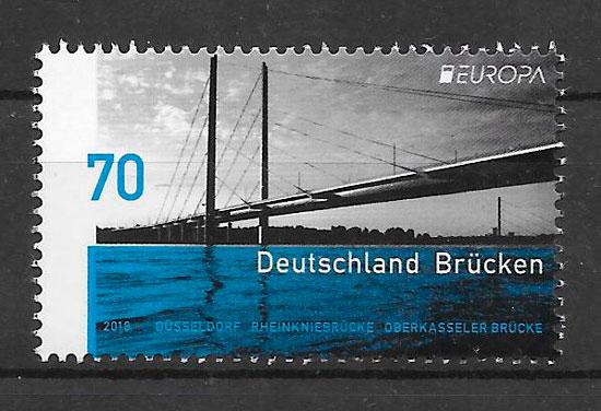 filatelia Europa Alemania 2018