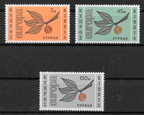 selos Europa Chipre 1965
