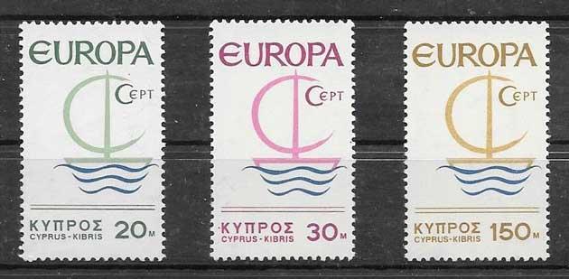 Sellos Chipre 1966