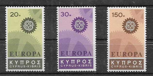 Estampillas Chipre-1967-01
