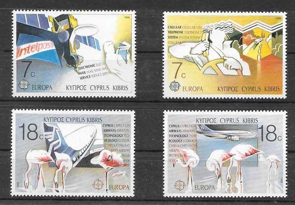 Filatelia Chipre-1988-01