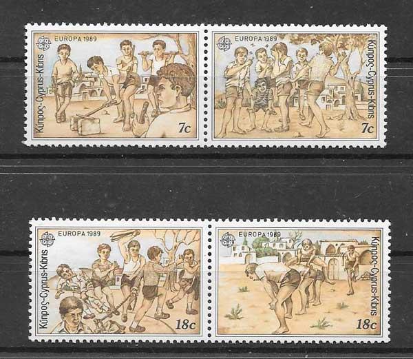 Filatelia Chipre-1989-01