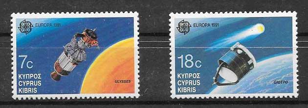 Filatelia Chipre 1991