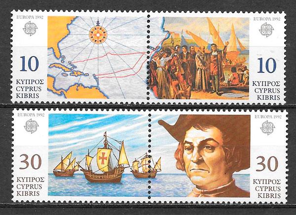 selos Europa Chipre 1992
