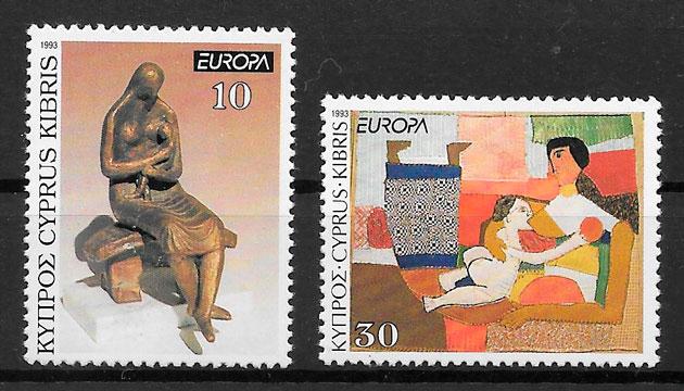 selos Europa Chipre 1993