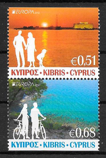 sellos Europa 2012 Chipre