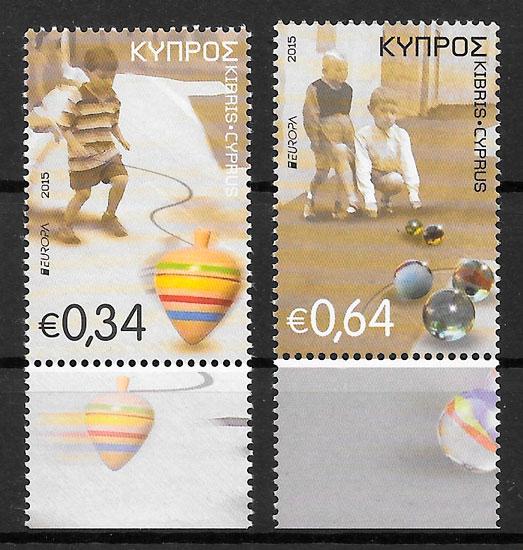sellos Europa 2015 Chipre