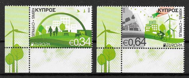 sellos Europa 2016 Chipre