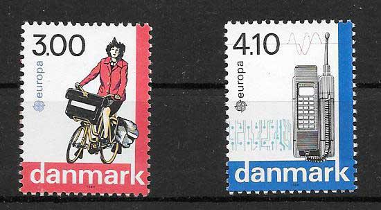 Filatelia Tema Europa 1988