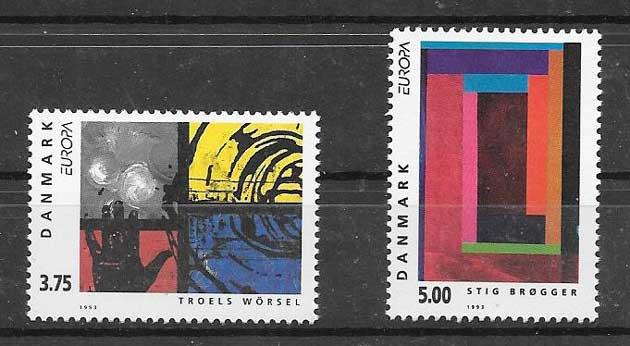 Colección Dinamarca 1993