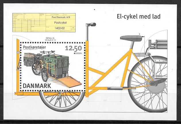 filatelia colección Europa Dinamarca 2013