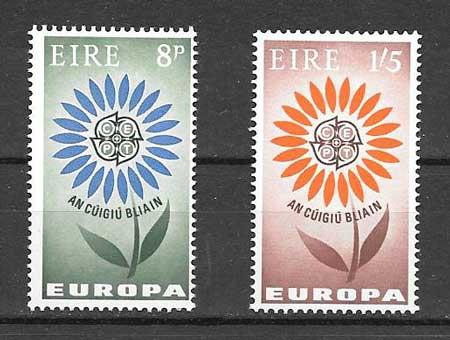 Sellos Tema Europa 1964