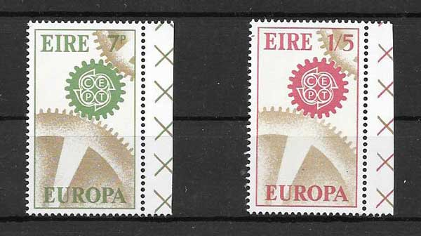 Filatelia Tema Europa Irlanda 1967