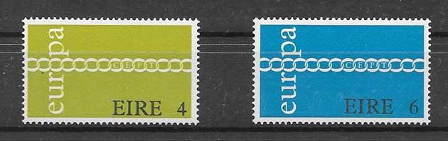 Estampillas Irlanda-1971-01