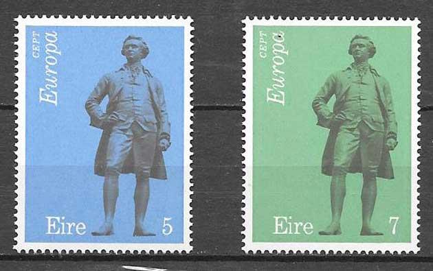 Filatelia Tema Europa Irlanda 1974
