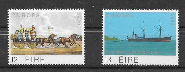 Colección filateliaTema Europa Irlanda 1979