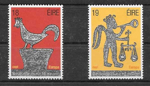 Colección sellos Tema Europa 1981