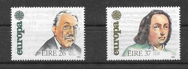 FilateliaTema Europa 1985