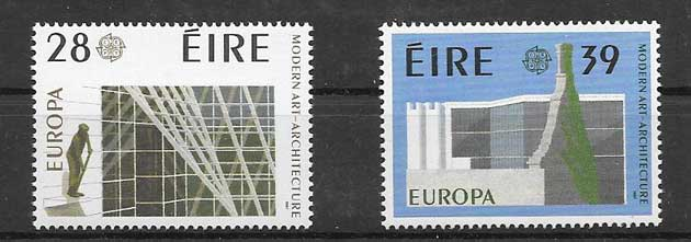 Colección sellos Tema Europa 1987