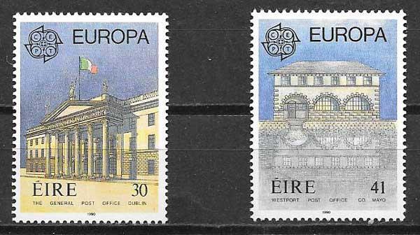 colección sellos Tema Europa 1990